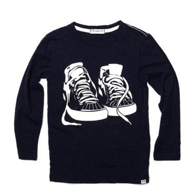 Appaman Graphic Long Sleeve Tee Sneaker Game