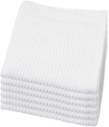 Now Designs Ripple Dishcloths White