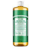 Dr. Bronner's Organic Pure Castile Liquid Soap Almond
