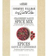Gourmet du Village Traditional Spiced Cranberry Sauce Mix