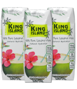 King Island 100% Pure Coconut Water 3-Pack