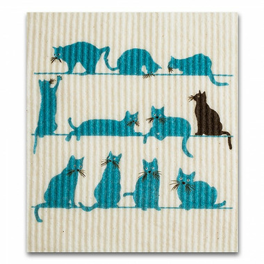 Wet-It Swedish Cloth Lots Of Cats