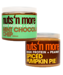 Nuts n More Pumpkin & Mint Seasonal Protein Butter Bundle