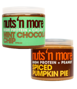 Nuts 'n More Pumpkin & Mint Seasonal Protein Butter Bundle