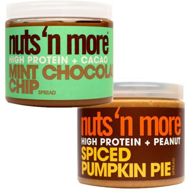 Nuts n More Pumpkin & Mint Seasonal Protein Butter Bundle