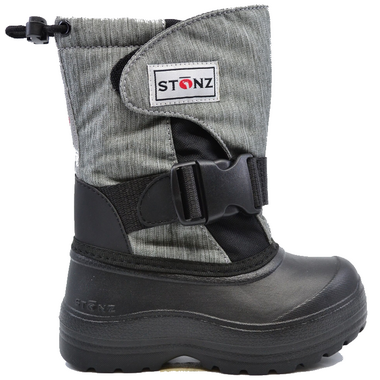 Stonz Trek Boots Black Heather Grey
