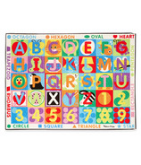 Melissa & Doug ABC 123 Jumbo Rug Set