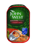 John West Mackerel Fillets In Tomato Sauce