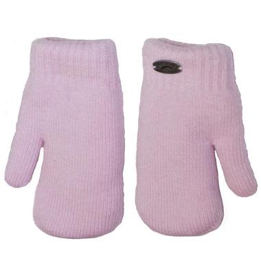 Calikids Cashmere Touch Mitten Pink