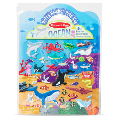 Melissa & Doug Puffy Sticker Play Set Ocean