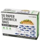 Lunchskins Sealable Paper Sandwich Bags Shark