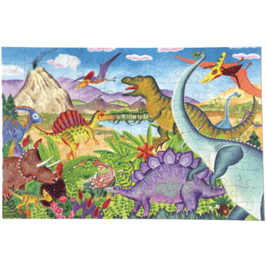 eeboo Age of the Dinosaur Kid\'s Puzzle
