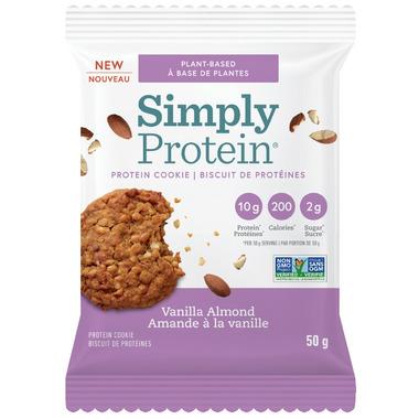 Simply Protein Cookie Vanilla Almond Case
