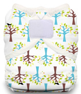 Thirsties Duo Wrap Hook & Loop Diaper Blackbird