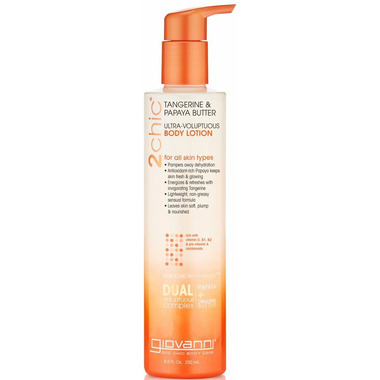 Giovanni 2chic Tangerine & Papaya Ultra-Voluptuous Body Lotion