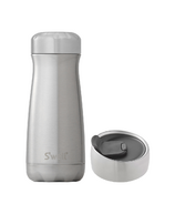 S'well Silver Lining Traveler Bottle + Commuter Lid Bundle