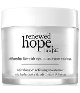 Philosophy Renewed Hope In A Jar Hydratant rafraîchissant et redéfinissnt