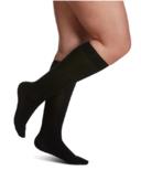 Sigvaris All-season Merino Wool Compression Socks Womens Black