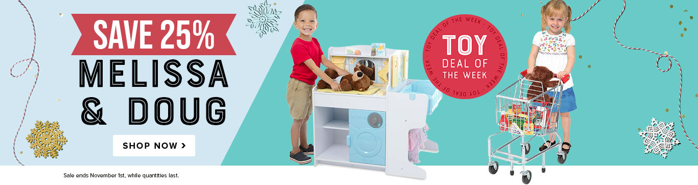 Toy Deal of the Week: Save 25% on Melissa & Doug