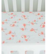 Little Unicorn Percale Crib Sheet Pink Ladies