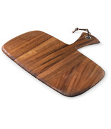 Ironwood Gourmet Small Rectangular Acacia Wood Paddle Board