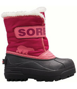 Sorel Children's Snow Commander Tropic Pink & Deep Blush