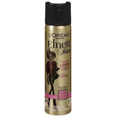 L\'Oreal Elnett Satin Elnett Loves Fashion Volume Strong Hold Hairspray