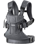 BabyBjorn Baby Carrier One Anthracite 3D Mesh