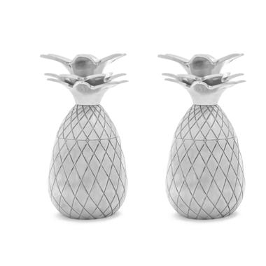 W&P Pineapple Shot Glass Set Silver