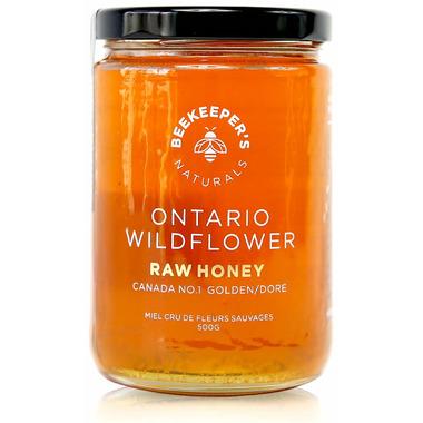 Beekeeper\'s Naturals 100% Raw Wildflower Honey