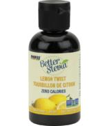 MAINTENANT BetterStevia Édulcorant Liquide Lemon Twist