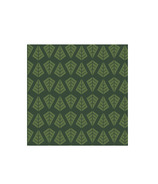 Harman Linear Tree Cocktail Napkin Green