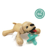 """babyworks Pacifier Friend with Pacifier """"Bud"""" Puppy"""