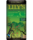 Lily's Sweets Dark Chocolate Bar Coconut