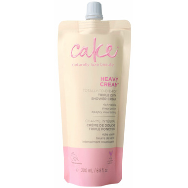 Cake Beauty Heavy Cream Triple Duty Shower Cream