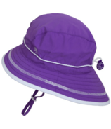 Calikids Quick-Dry Bucket Hat Extra Wide Brim Purple