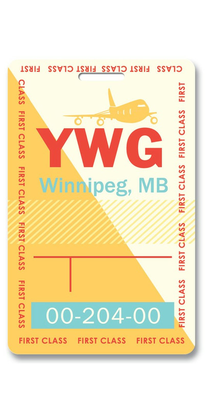 Buy Smitten Kitten Winnipeg Luggage Tag from Canada at ...