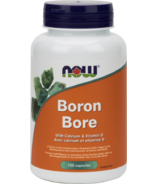 NOW Foods Boron with Clacium & Vitamin D 700 mcg