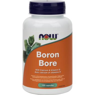 NOW Foods Boron with Clacium & Vitamin D 700 mcg