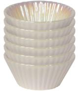 Ensemble de tasses à pâtisserie Now Designs blanc perle