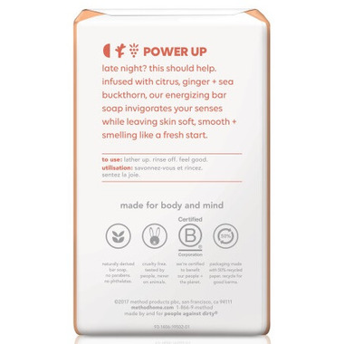 Method Bar Soap Energy Boost