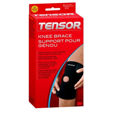 Tensor Knee Brace with Open Patella