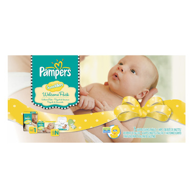 Pampers Swaddlers Welcome Pack