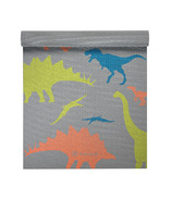 Gaiam Kids Printed Yoga Mat Dino Zone