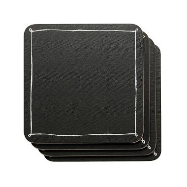 Now Designs Blackboard Cork-backed Coasters