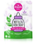 Dapple Lavender Scent Baby Bottle & Dish Liquid Refill Pack