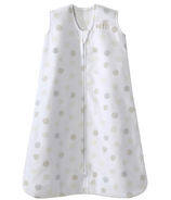 HALO Innovations SleepSack Fleece White Sketch Dot