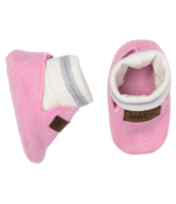 Juddlies Cottage Collection Organic Slippers Sunset Pink