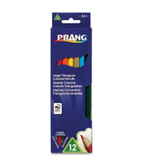 Prang Large Triangular Coloured Pencils