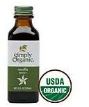Simply Organic Vanilla Extract